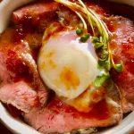 どすこいカレー、ローストビーフ丼、日替わり弁当(平日デリバリー)